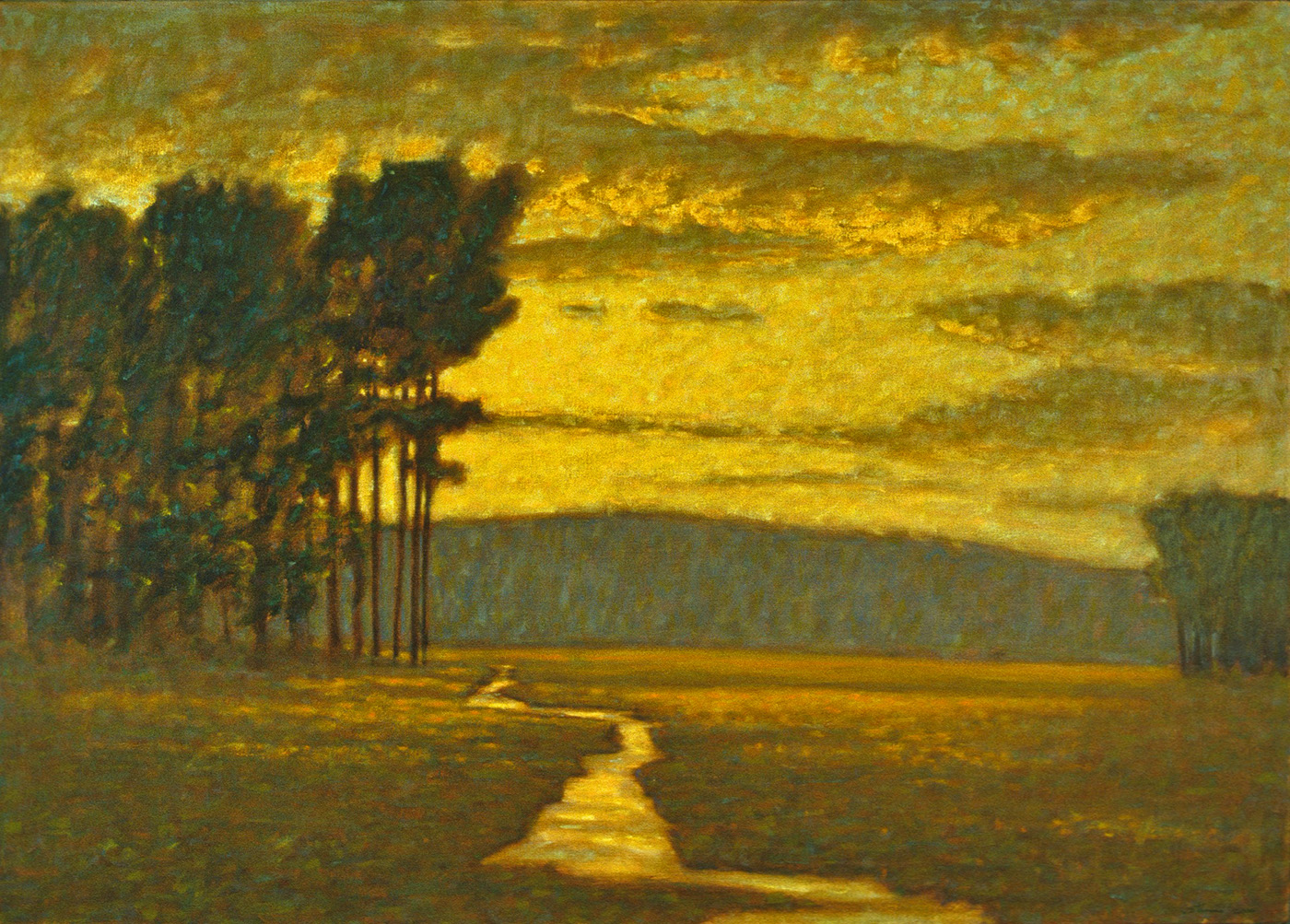 """Looking West   