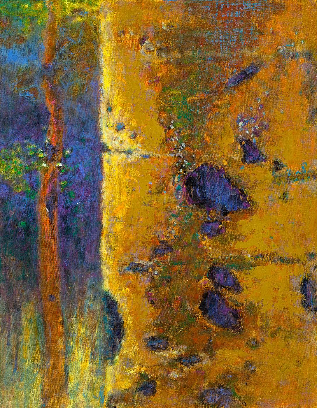 """Aspen Reverie     oil on linen   18 x 14""""   2014"""