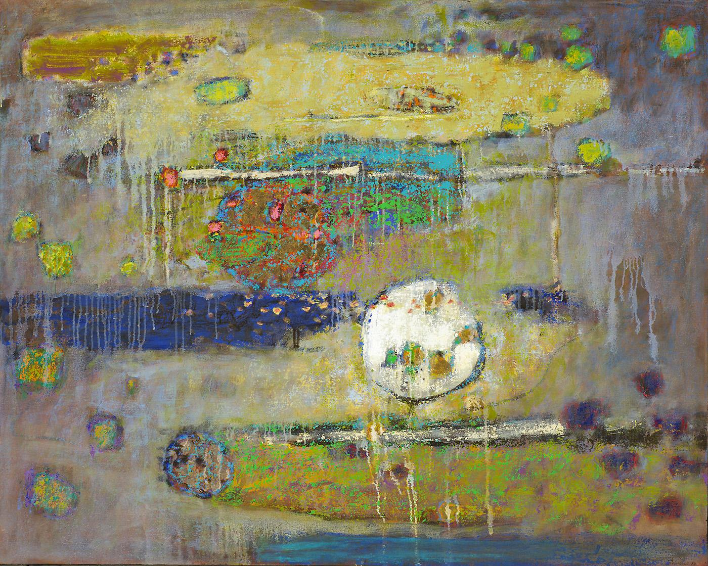 """Unproven Method     oil on canvas   36 x 45""""   2013"""