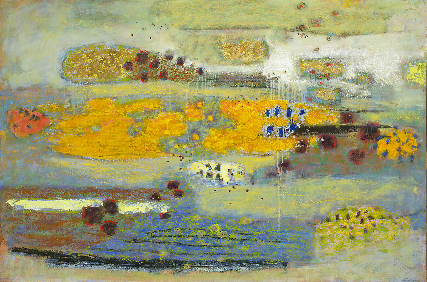 """Coastal Reverie     oil on canvas   32 x 48""""   2013"""