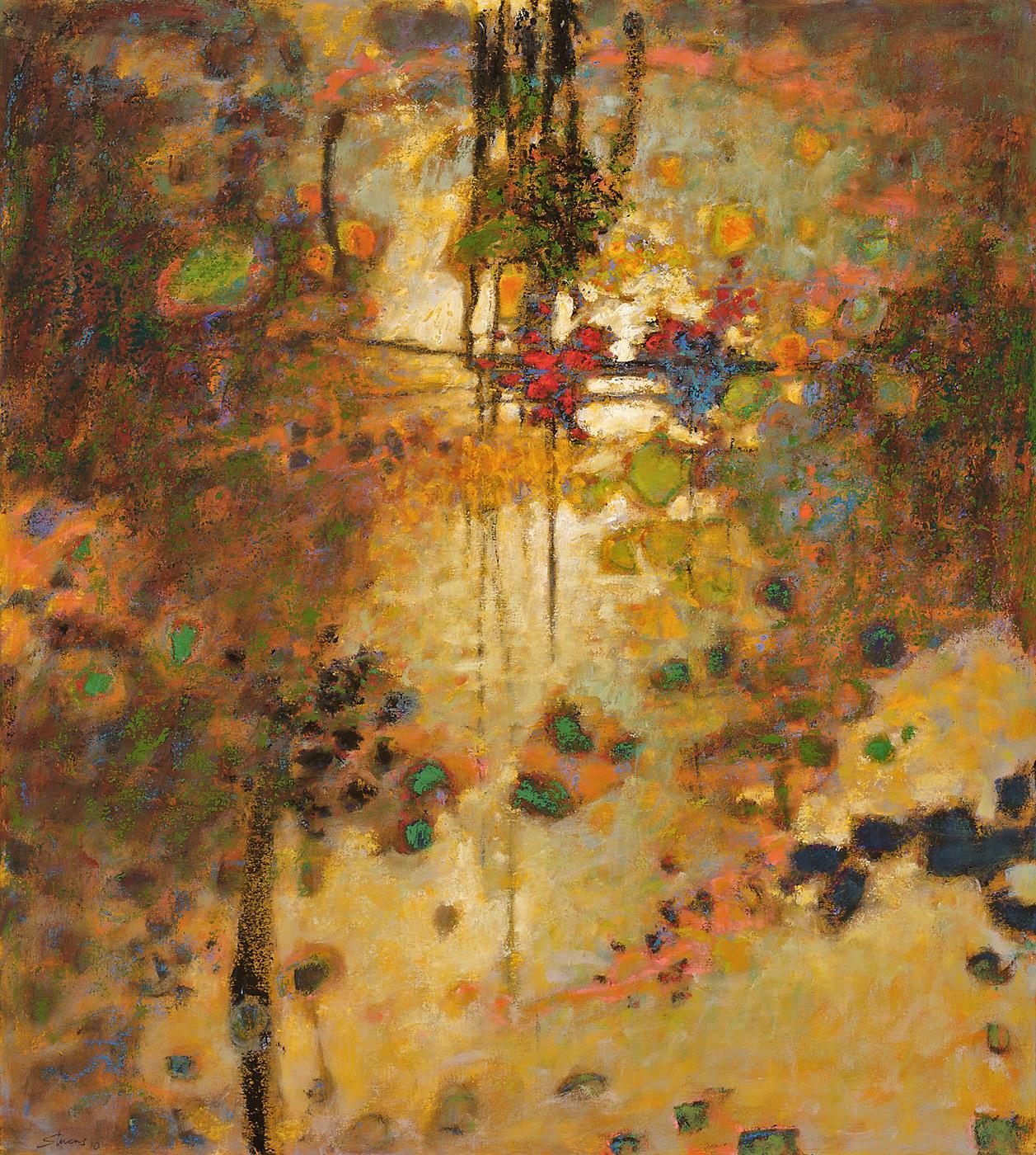 """Phantasmagorical     oil on canvas   40 x 35""""   2010"""