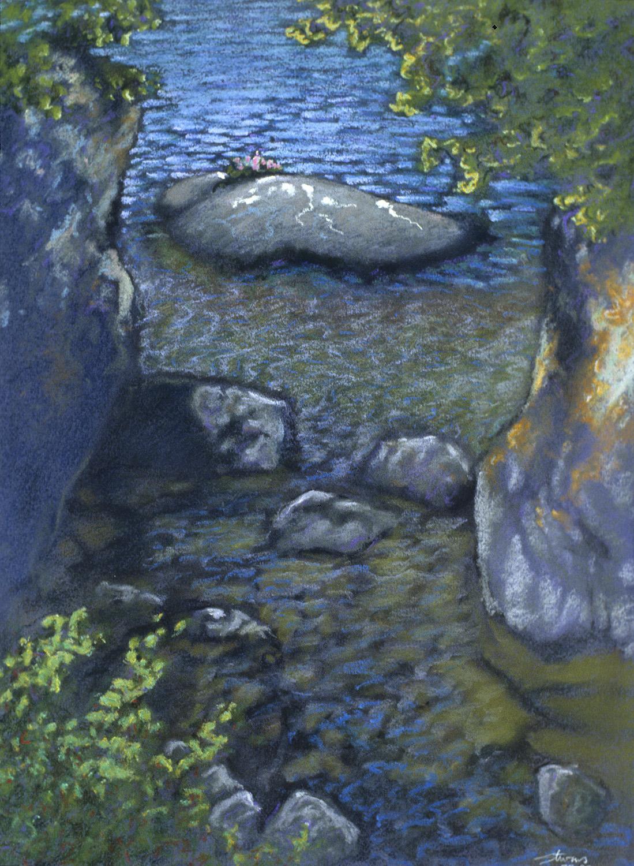 "Isle Royale   | pastel on paper | 21 x 16"" | 1993"