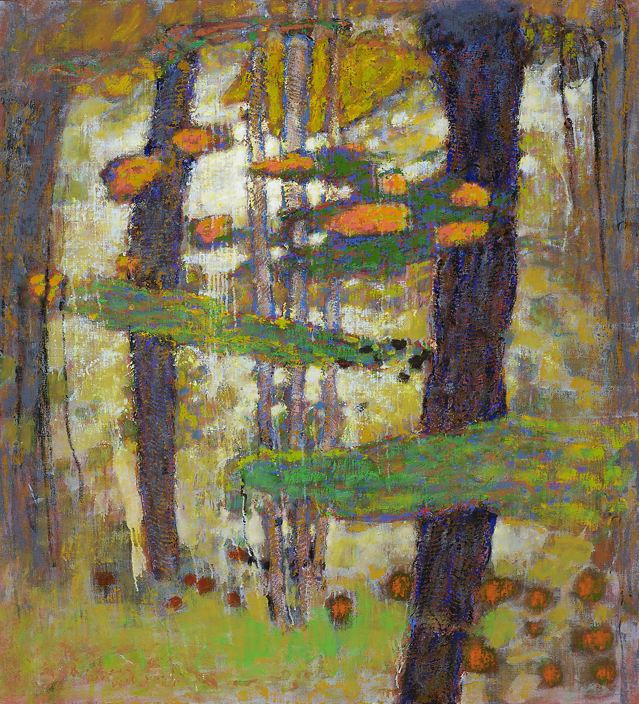 When All Was Wild II   | oil on canvas | 40 x 36"