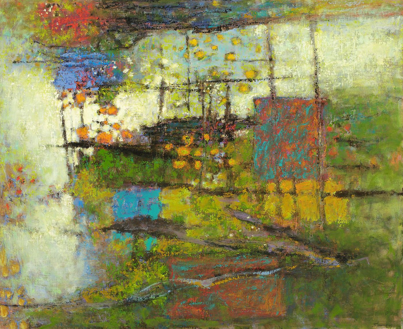 "Wilderness   | oil on linen | 36 x 44"" | 2009"