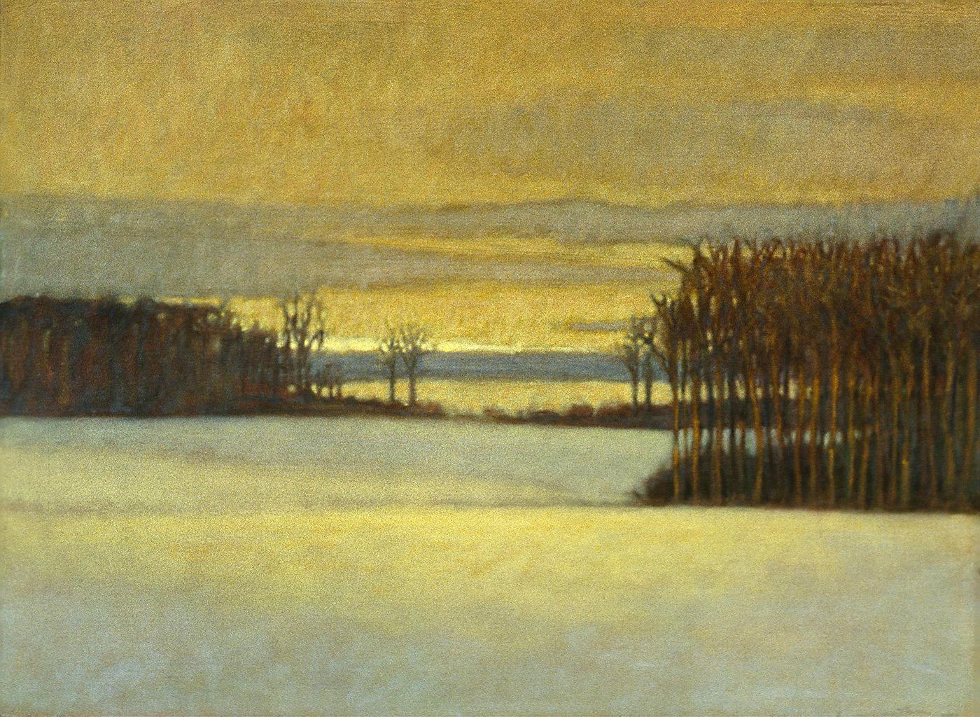 "Late November   | oil on canvas | 24 x 35"" | 2000"