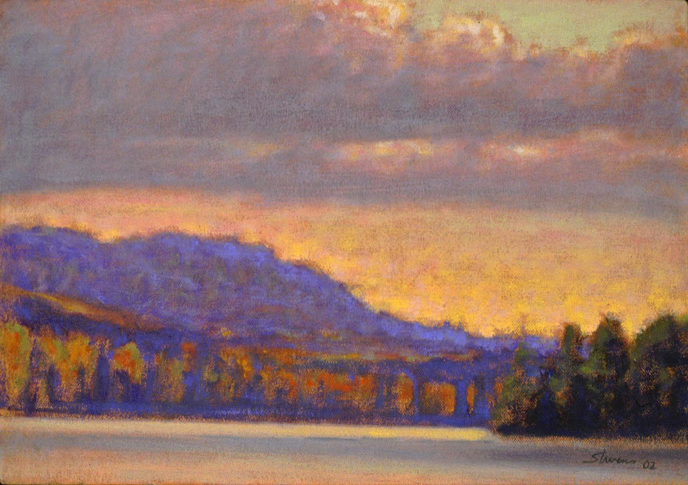 "Hopendyl   | oil on canvas | 12 x 17"" | 2002"