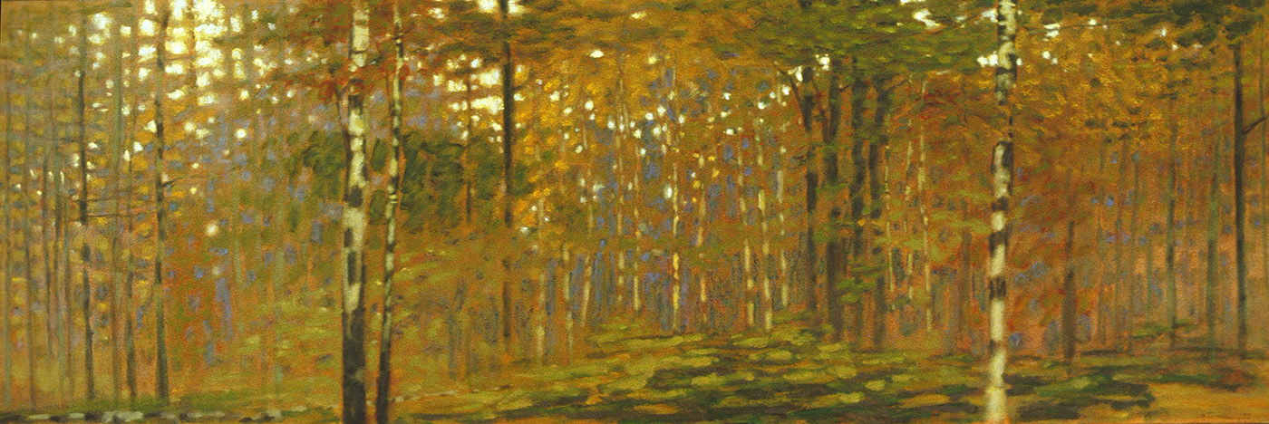 """September in the Forest   