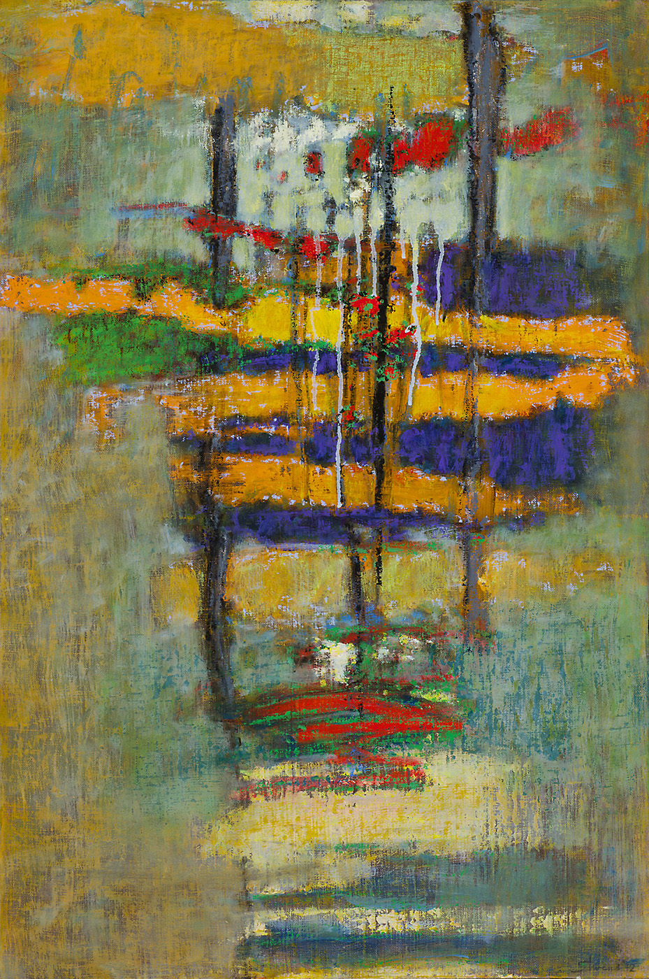 Continuous Stream   | oil on canvas | 30 x 20"