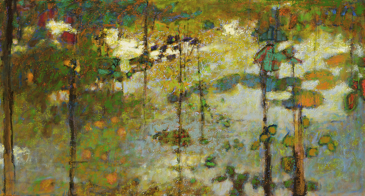 A Place in the Wilderness III   | oil on canvas | 28 x 52"