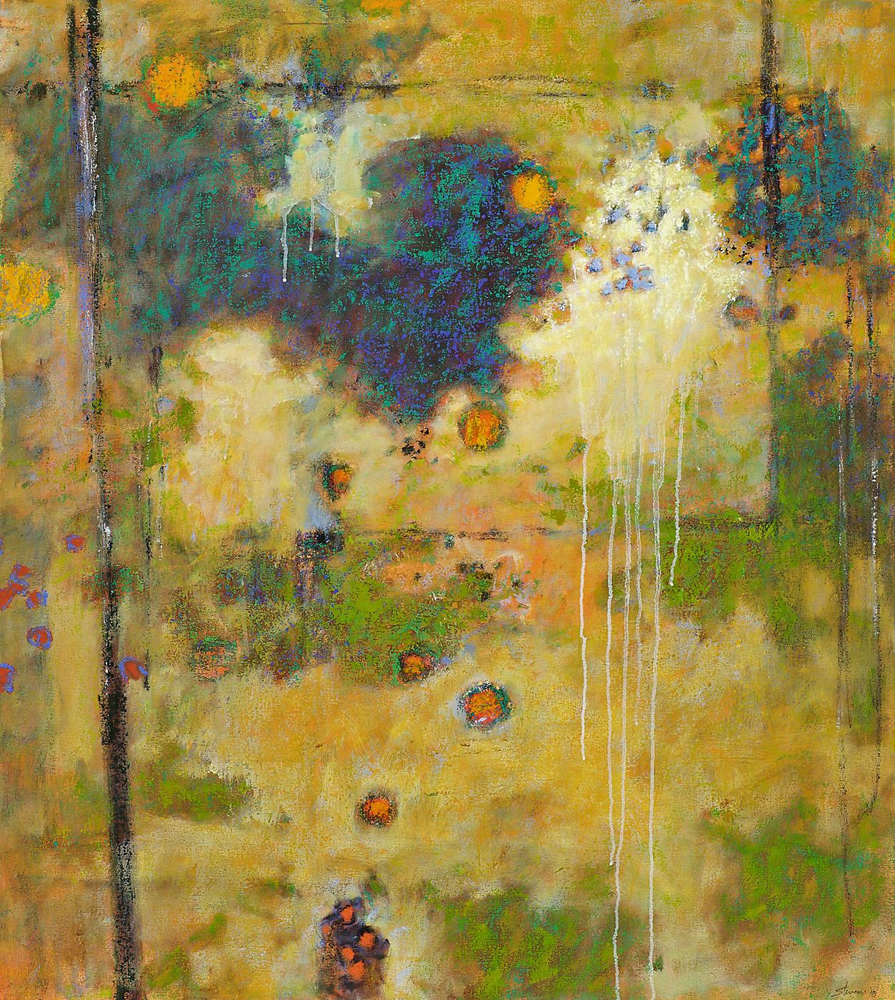 "Through the Void   | oil on canvas | 40 x 36"" | 2010"