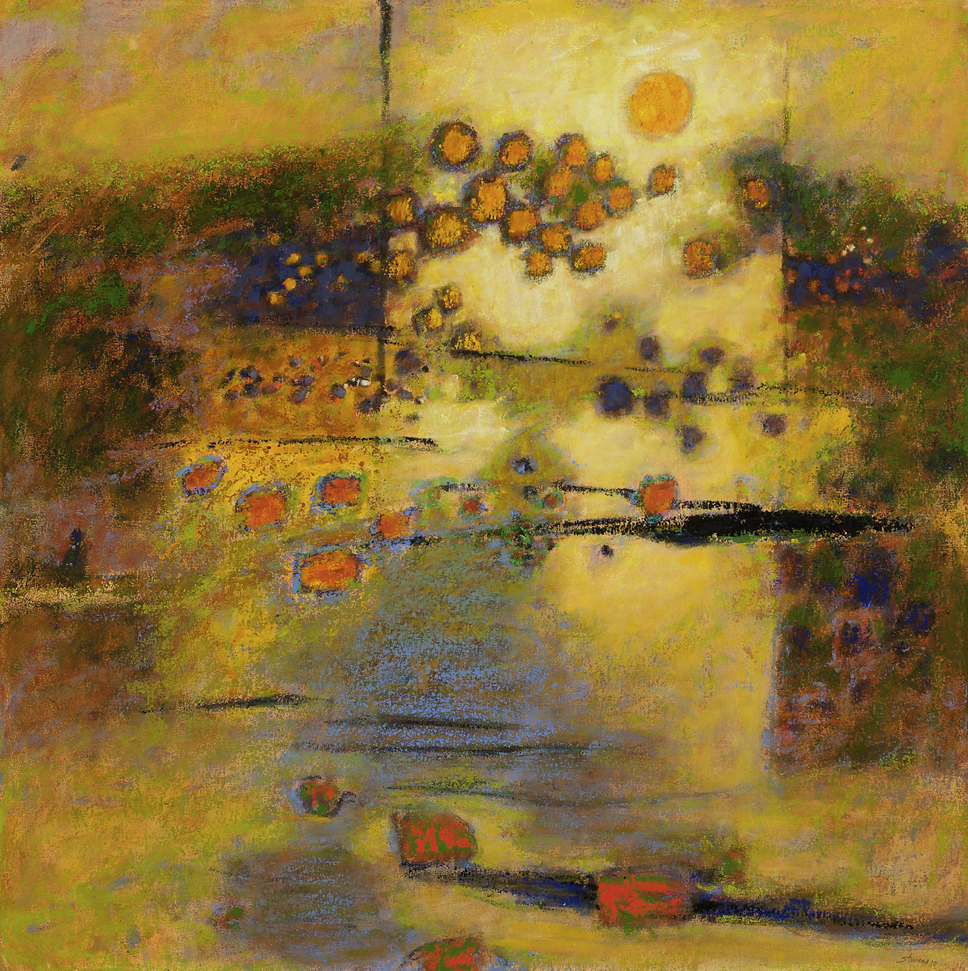 Land of Enchantment   | oil on canvas | 48 x 48"