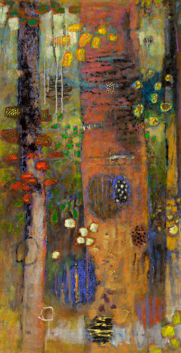 Modulating Presence   | oil on canvas | 62 x 32"