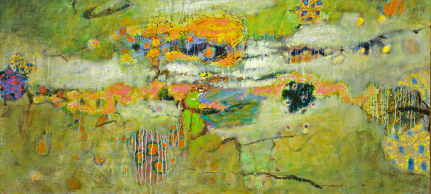 Expanding Forces   | oil on canvas | 36 x 69"