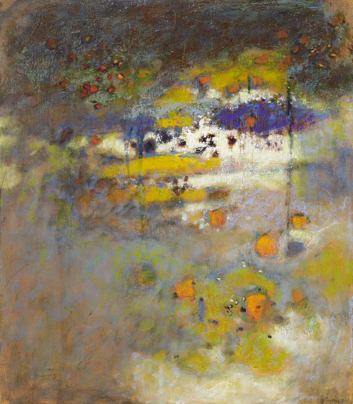 Before the Storm   | oil on canvas | 32 x 28"