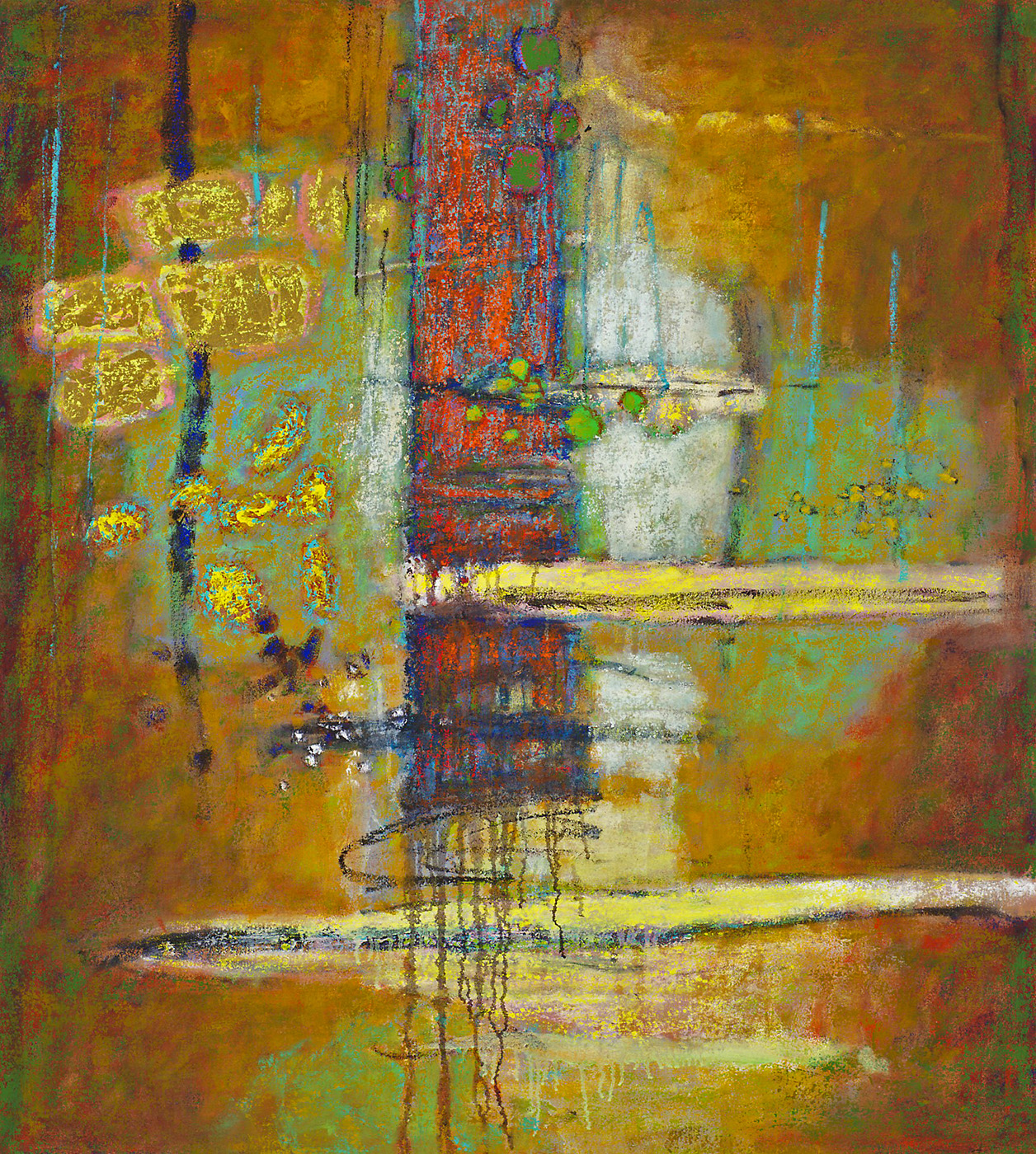 "Luminous Entity   | oil on canvas | 40 x 36"" | 2013"