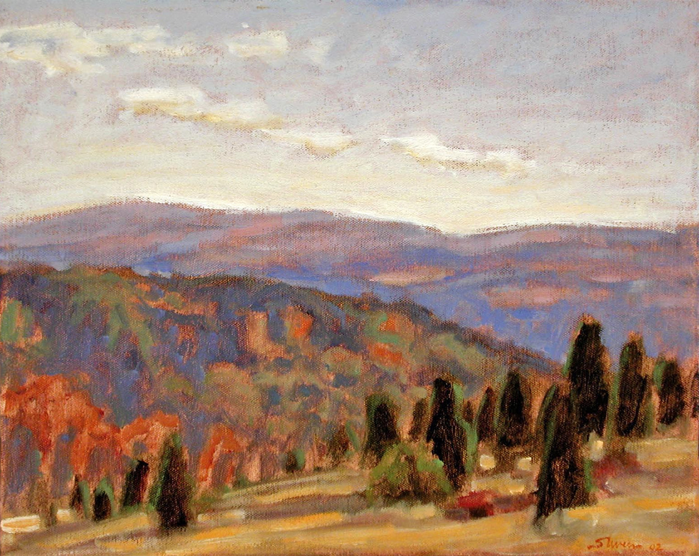 """Manistee River Valley   