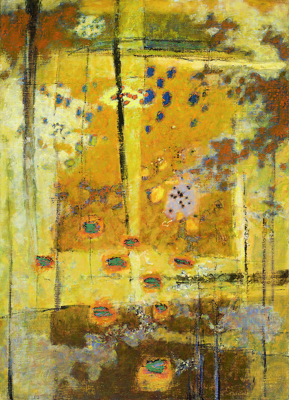Restructuring   | oil on canvas | 50 x 36"