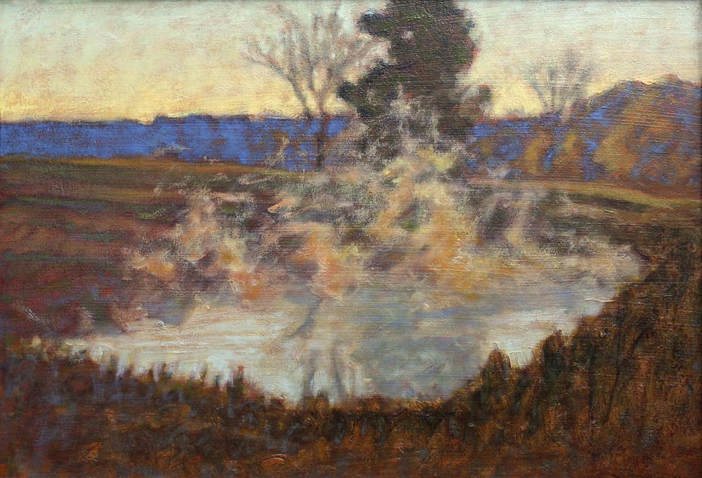 "21-01   | oil on canvas | 12 x 17"" | 2001"