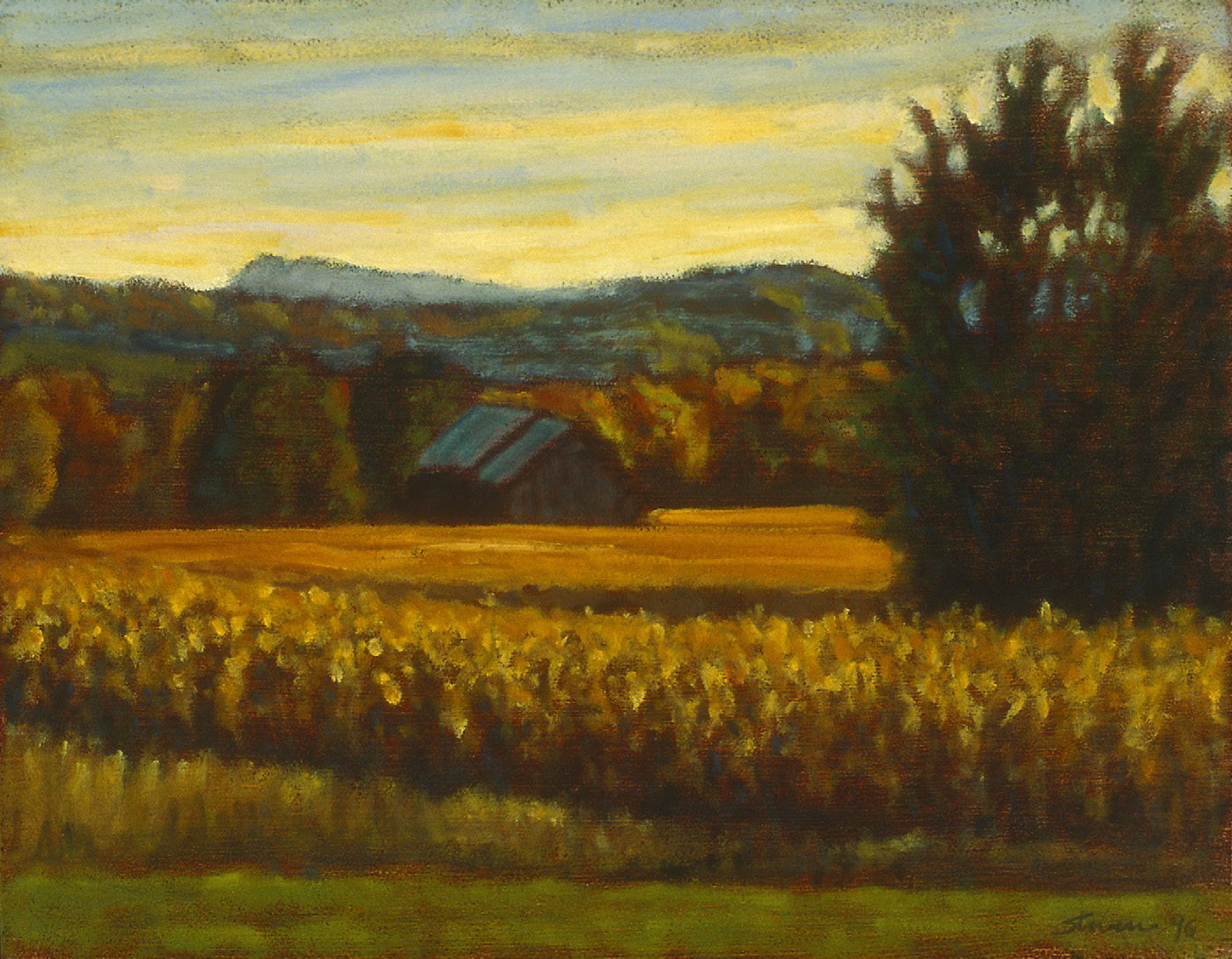 86-96   | oil on canvas | 12 x 15"