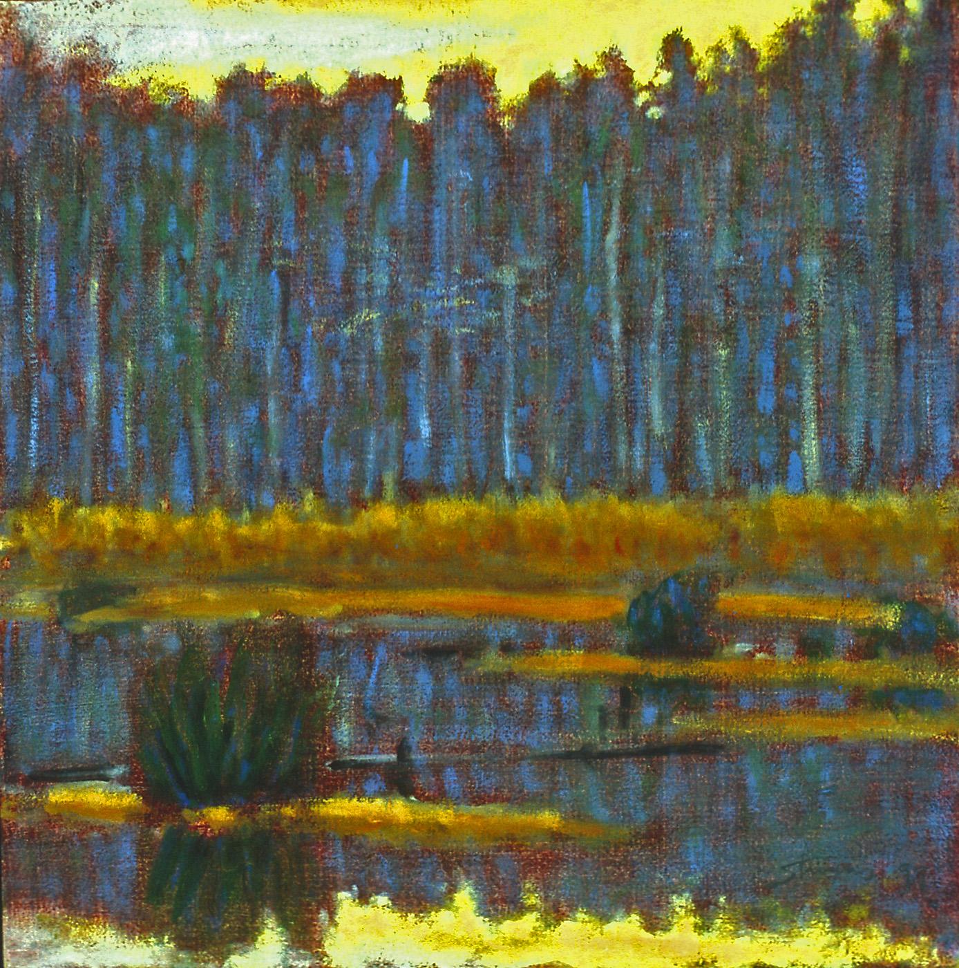 "10-97   | oil on canvas | 12 x 12"" | 1997"