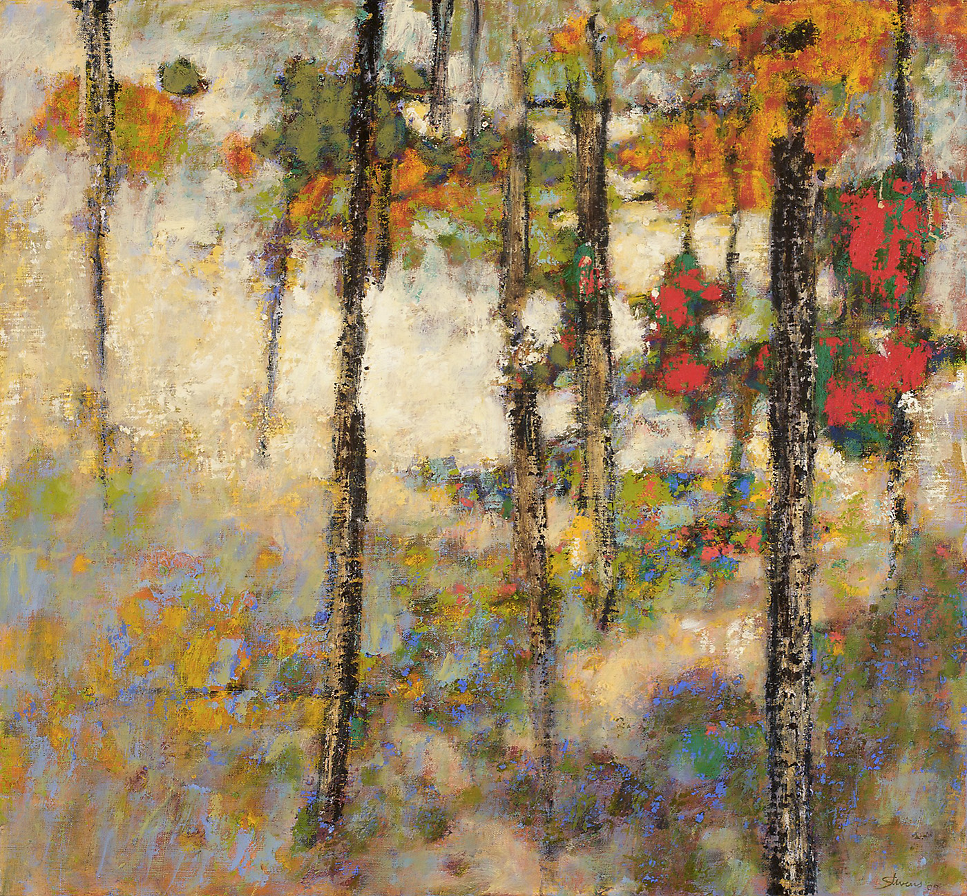 Structures of Wilderness   | oil on linen | 26 x 28"
