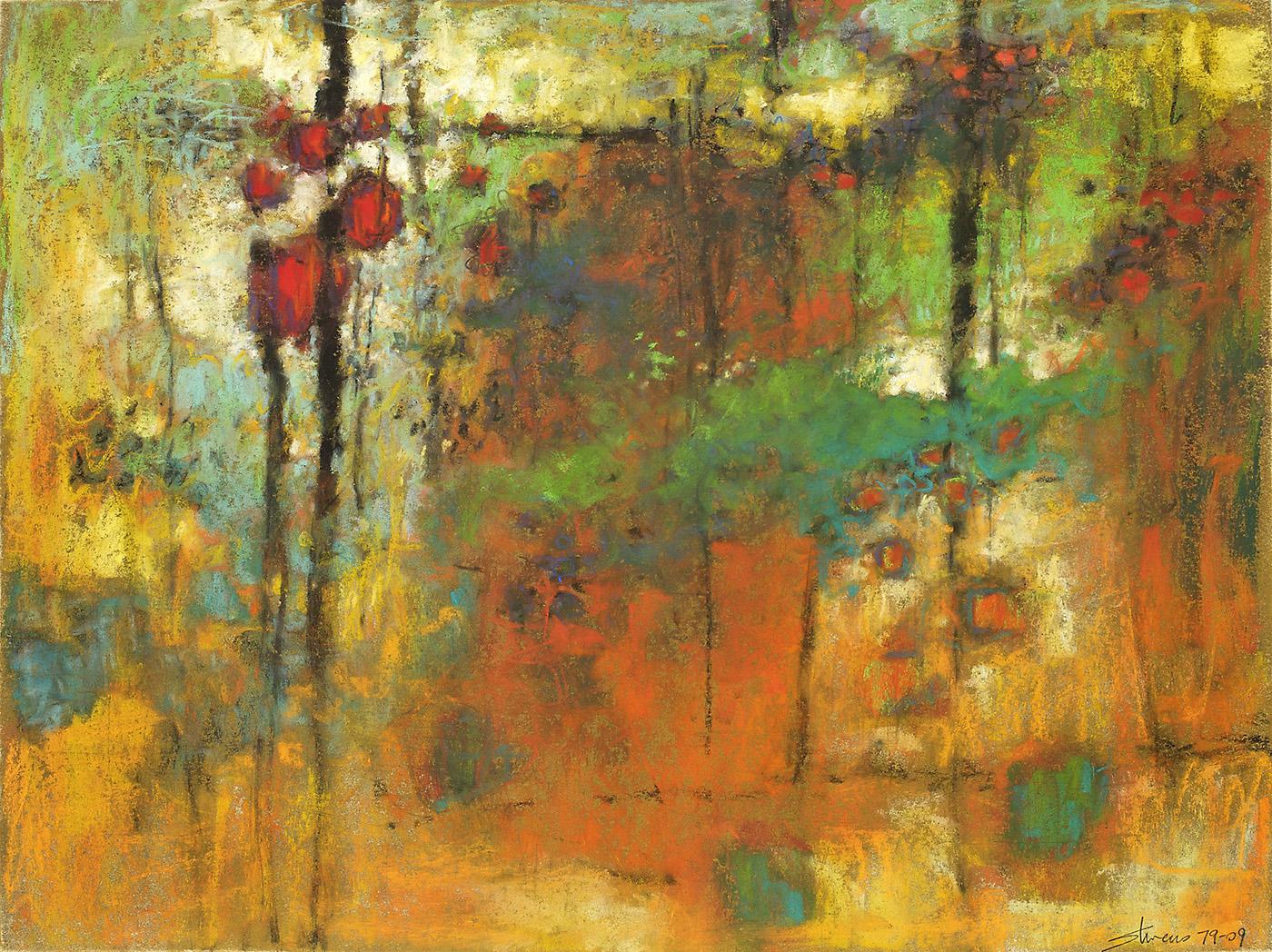 "79-09     pastel on paper   12 x 16""   2009"