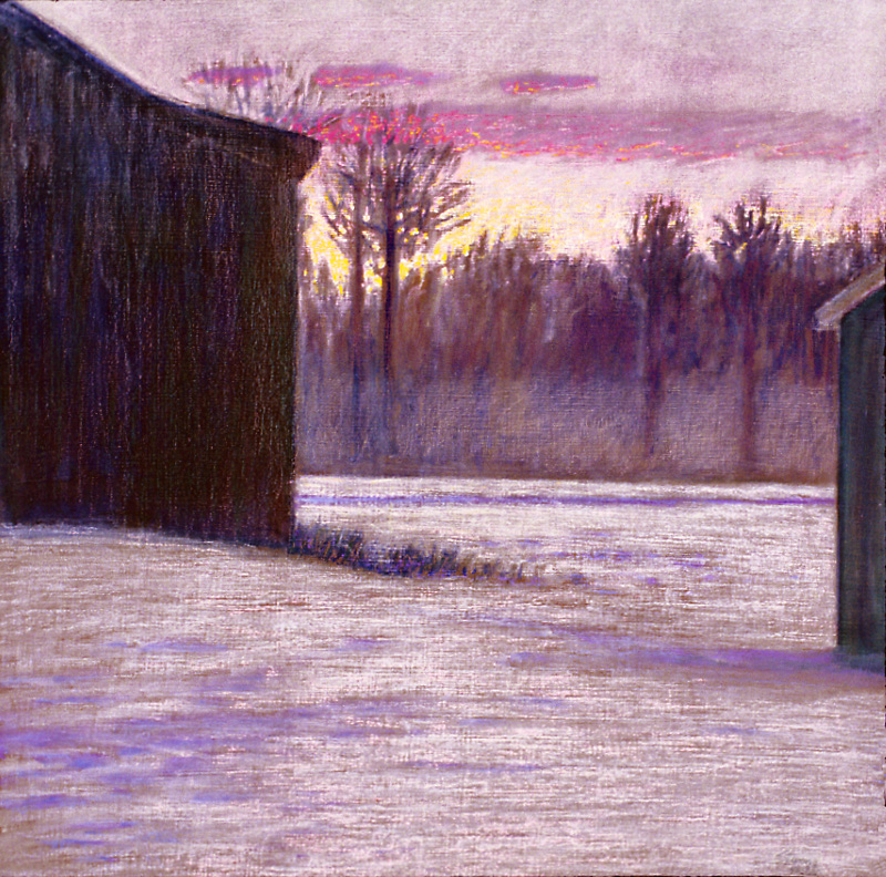 "48-93   | oil on canvas | 19 x 19"" | 1993"
