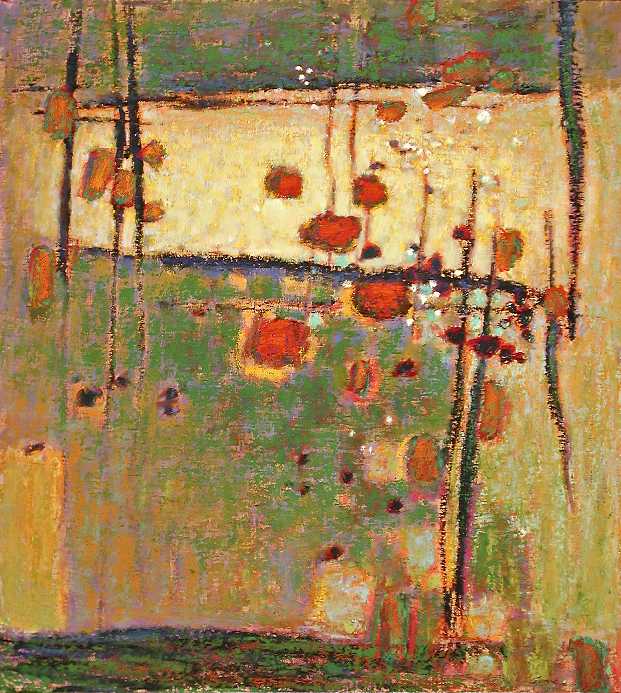 Unexpected Source   | oil on canvas | 40 x 36"