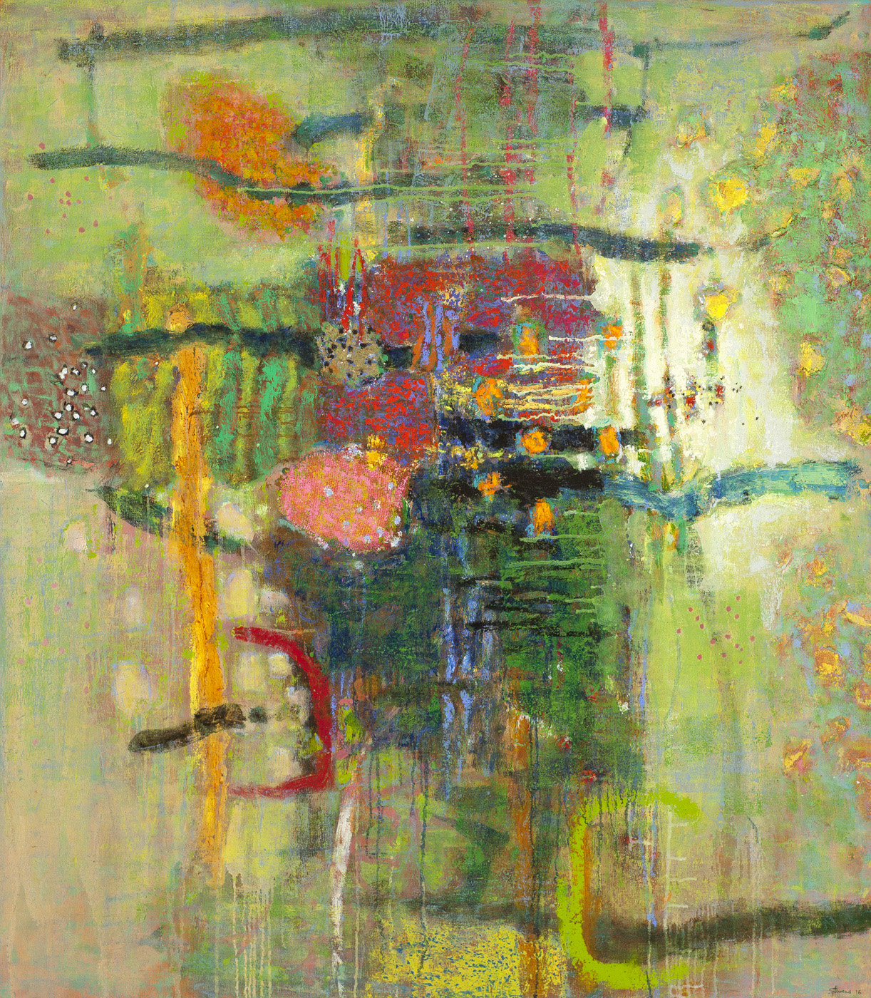 Quiet Vision   | oil on canvas | 48 x 42"