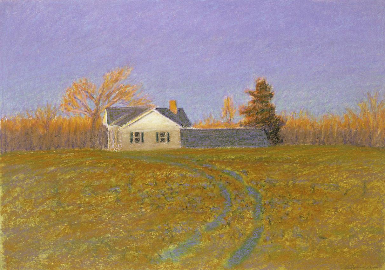 "First Light   | oil pastel | 14 x 20"" | 2000"