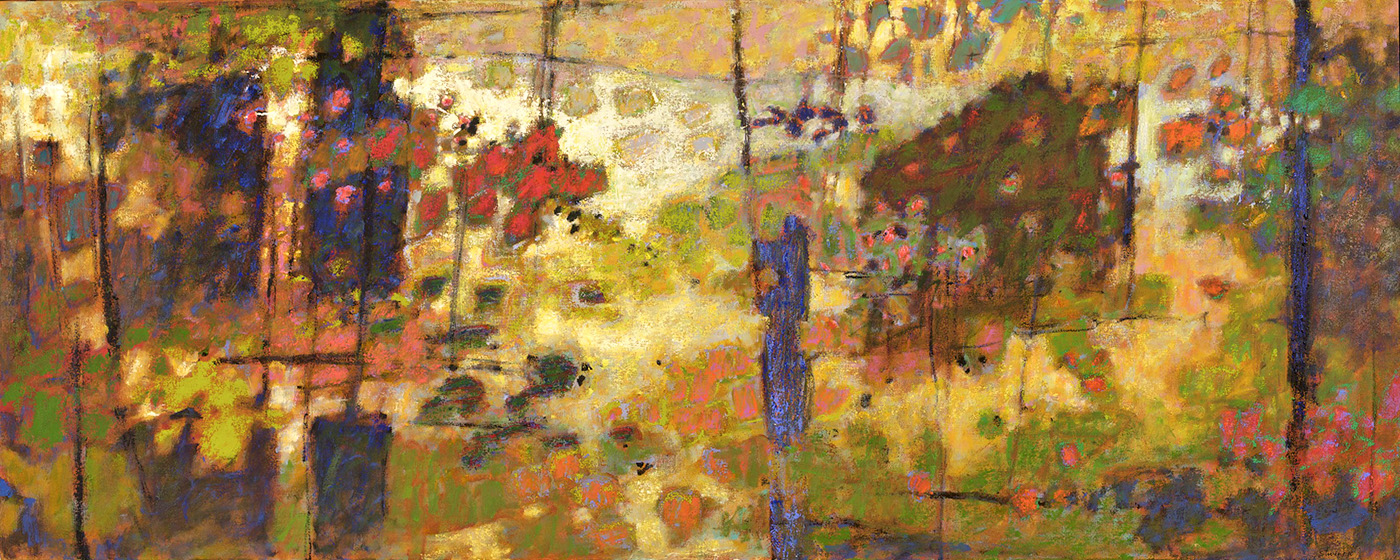 Backlit III   | oil on canvas | 32 x 80"
