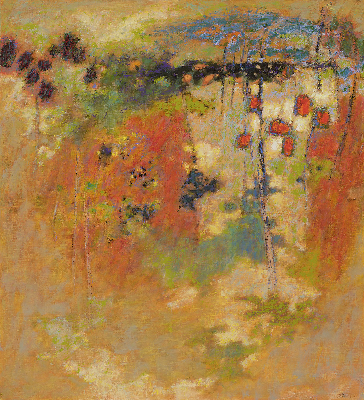 Floating World   | oil on canvas | 40 x 36"
