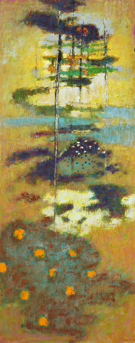 Momentary   | oil on canvas | 48 x 19"