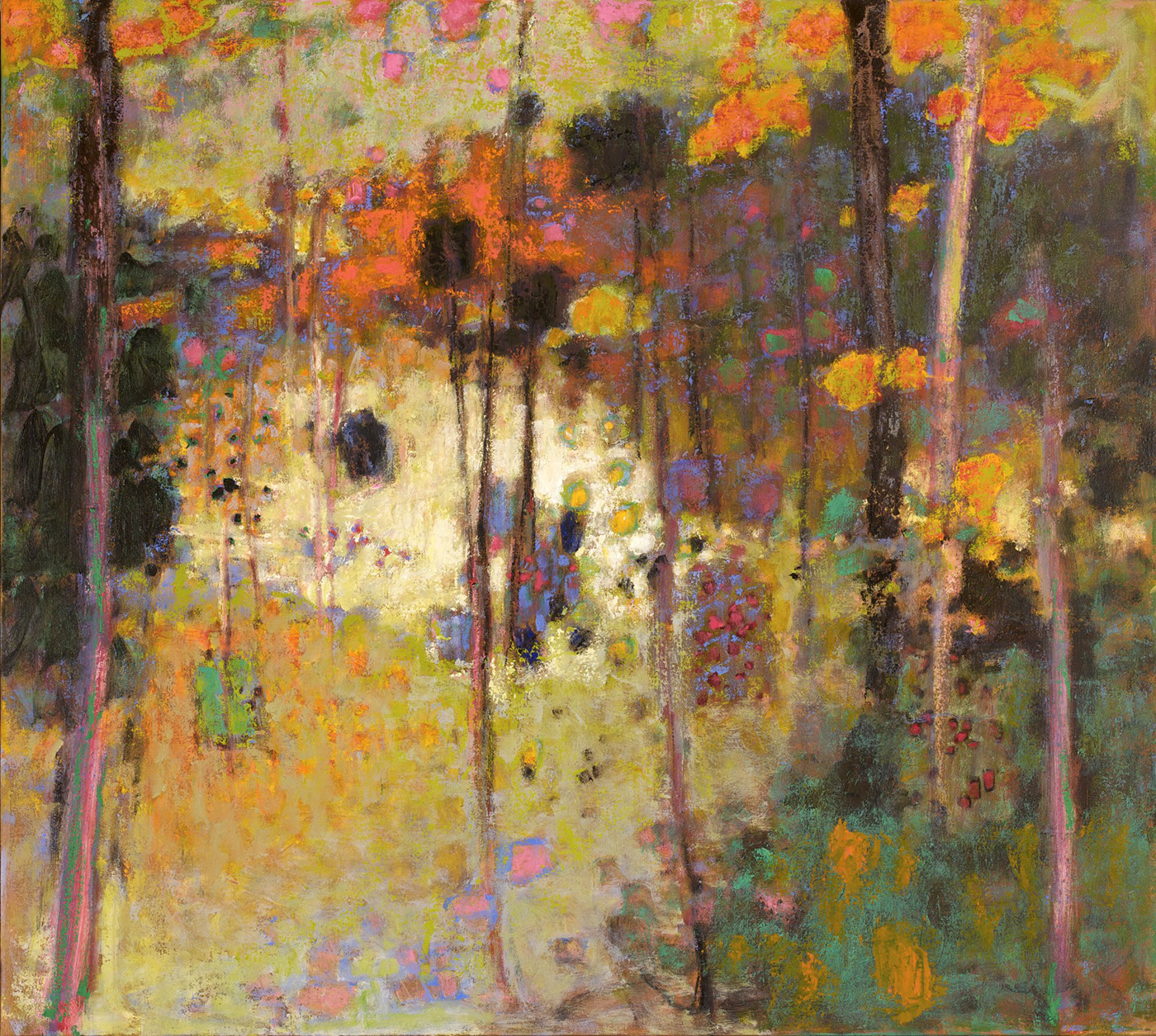 Light Dancing   | oil on canvas | 36 x 40"