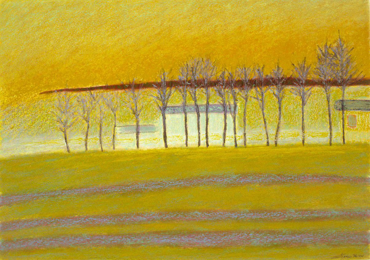 "36-00   | oil pastel | 14 x 20""| 2000"