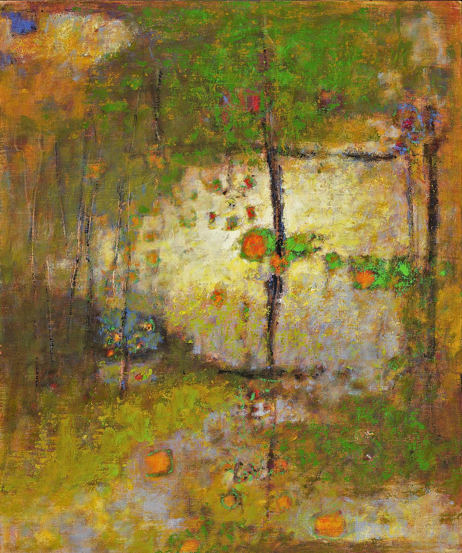 "Passing Terrain II     oil on canvas   36 x 30""   2010"
