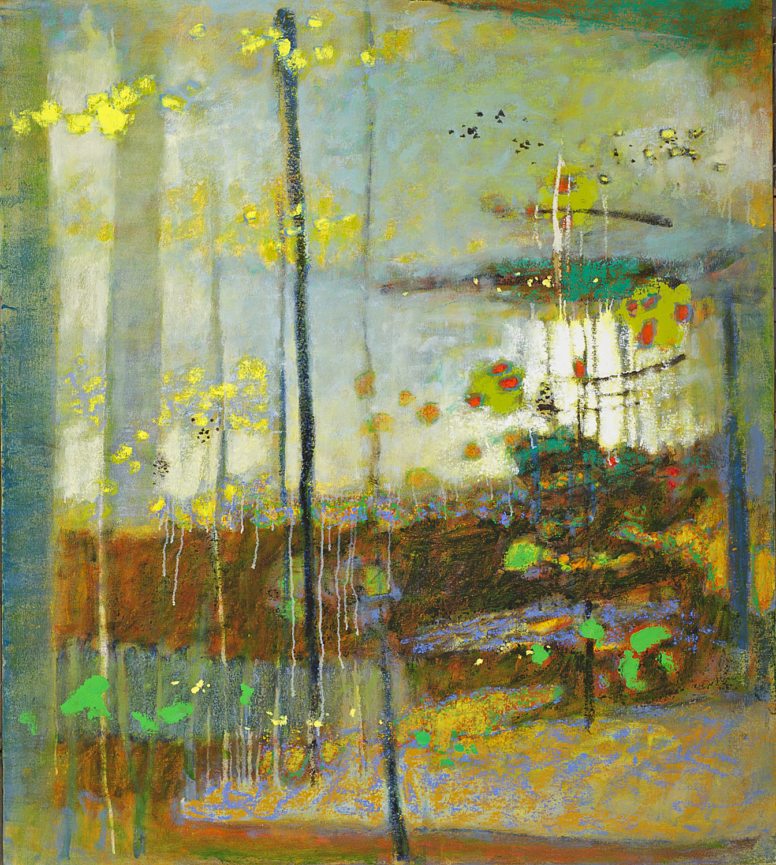 "Sanctuary In Light   | oil on canvas | 54 x 48"" | 2013"