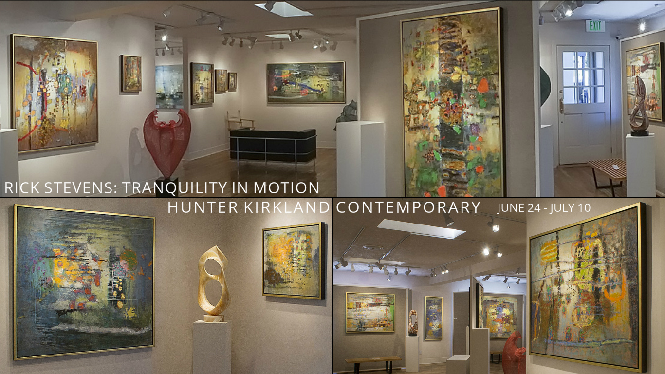 Rick's first solo exhibition of 2016,  Tranquility in Motion , opens this Friday!  Reception from 5-7pm