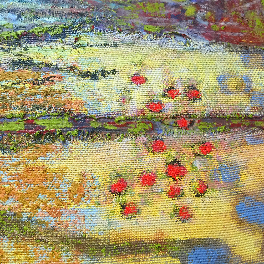 another detail of a new work in progress at the studio