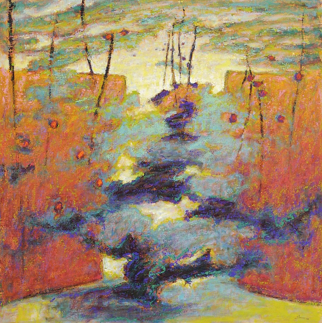 Into the Mystery   | oil on canvas | 48 x 48"