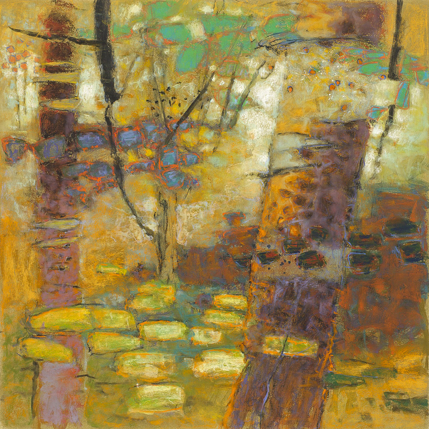 Light Matter   | pastel on paper | 24 x 24"