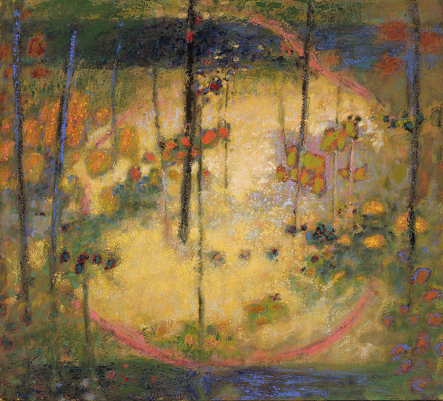 Dream of the Butterfly   | oil on canvas | 36 x 40"