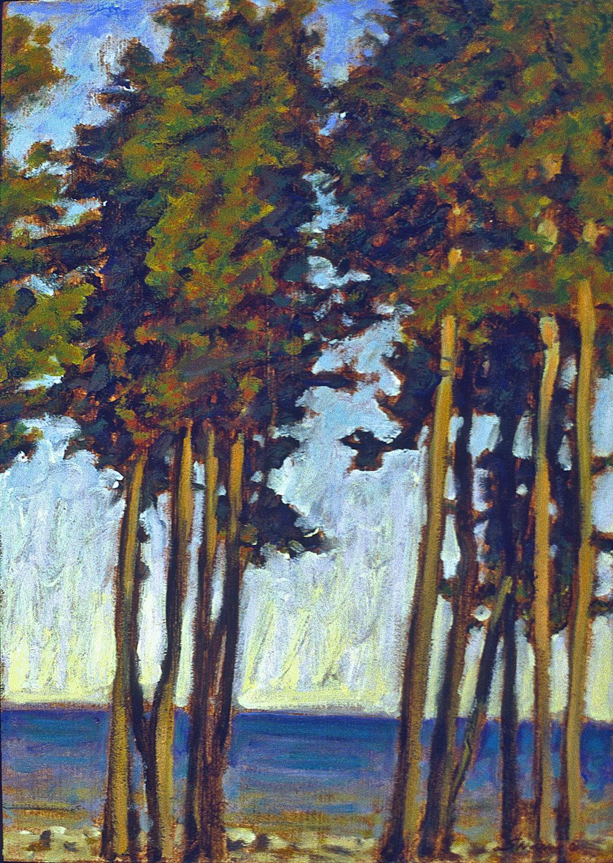 "49-01     oil on canvas   17 x 12""   2001"