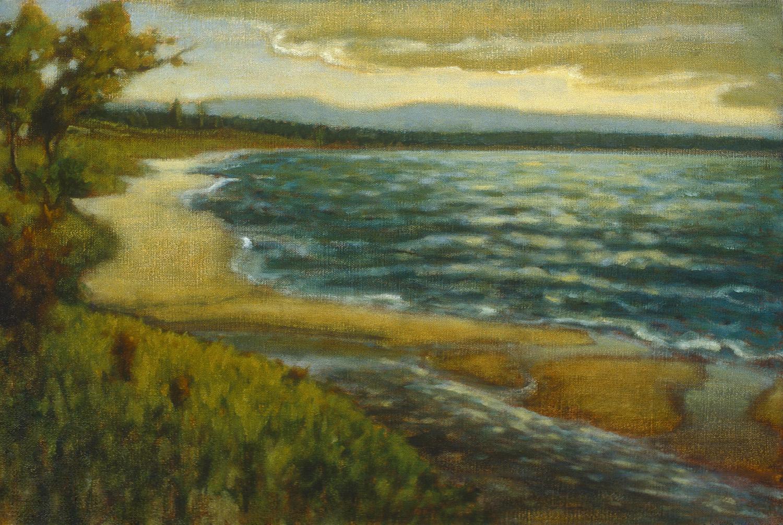 "Otter Creek   | oil on canvas | 16 x 24"" | 1995"