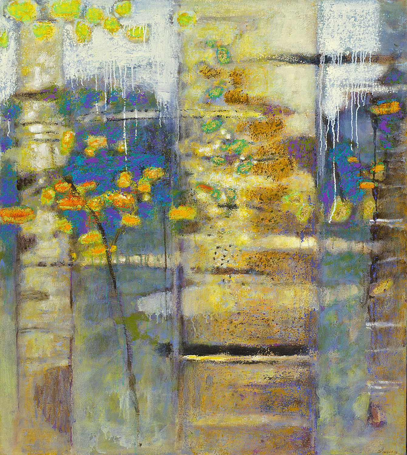 Everchanging Changeless   | oil on canvas | 40 x 36 | 2013