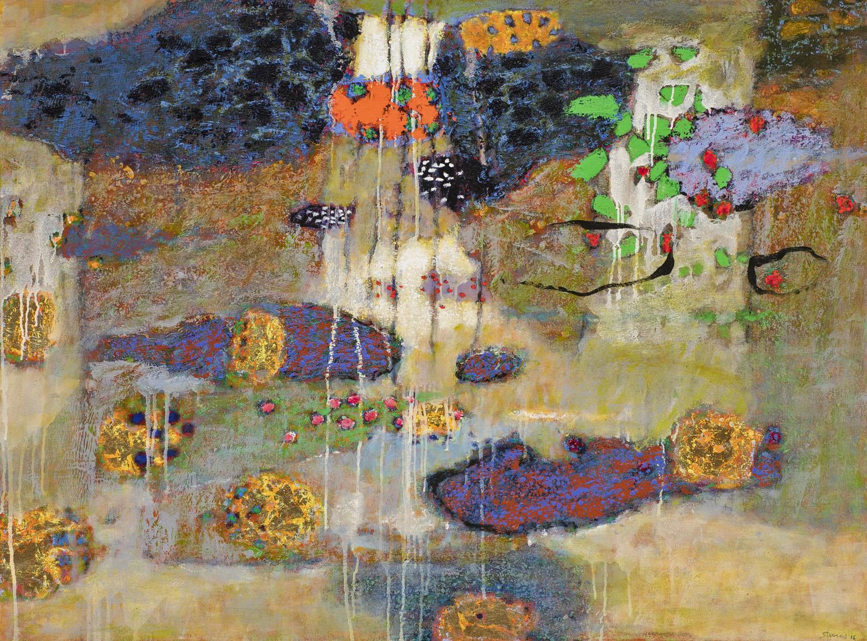 "Passing of Phenomena   | oil on canvas | 36 x 48"" | 2016"