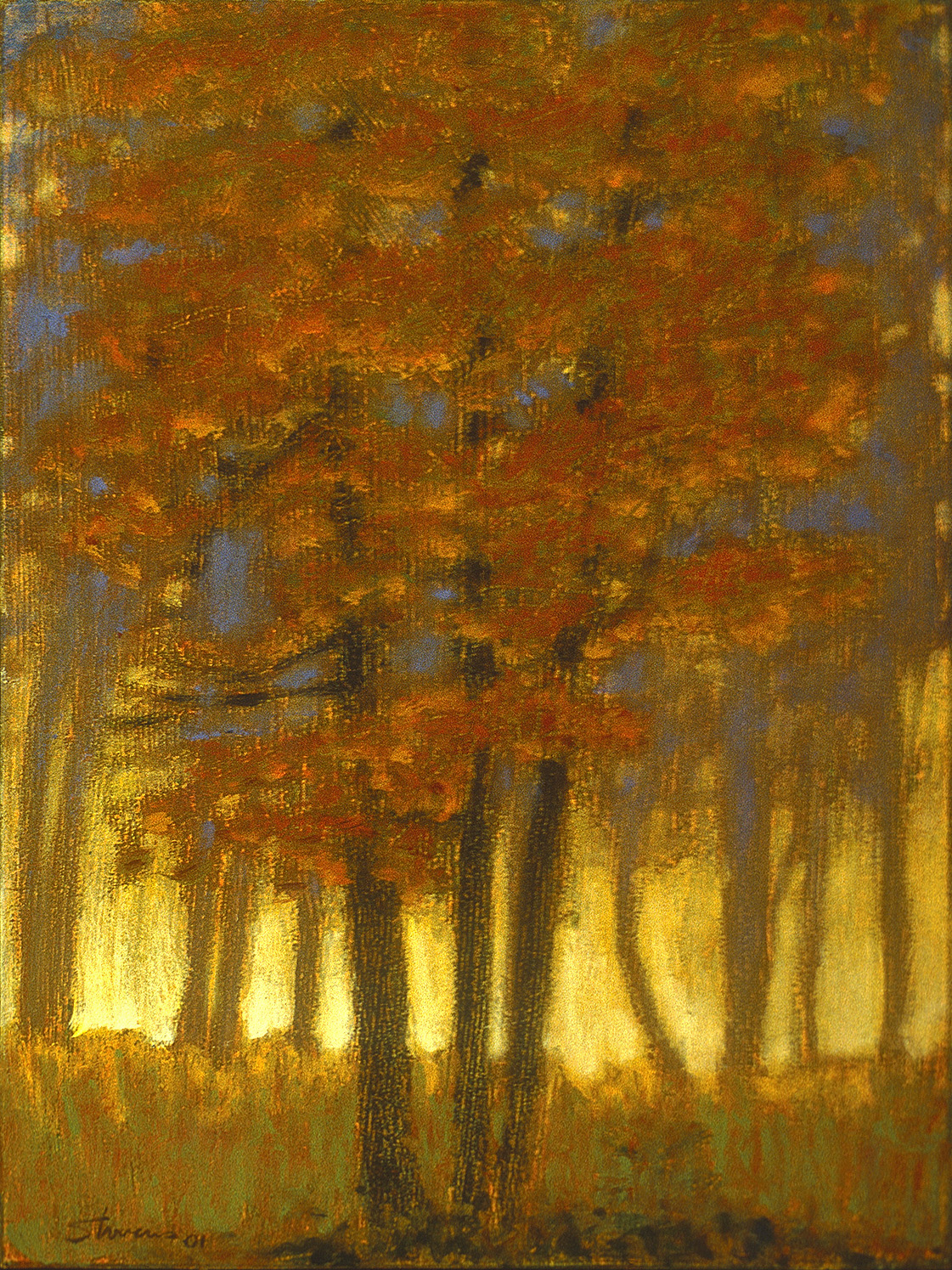 Beaver Island   | oil on canvas | 12 x 10"