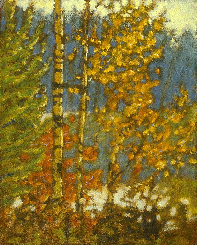 """Autumn     oil on canvas   15 x 12""""   1998"""