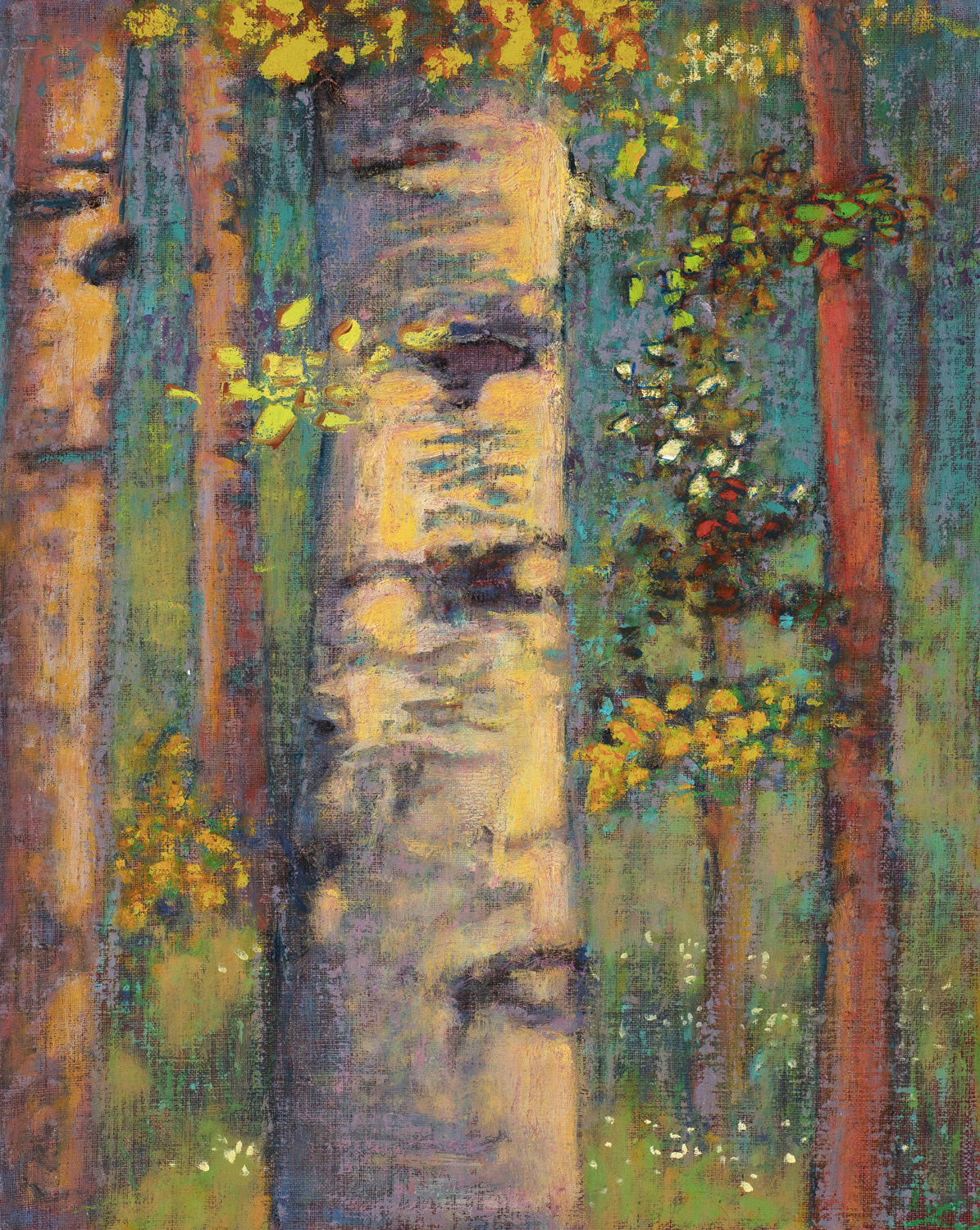 Woodland Grace   | oil on linen | 15 x 12"