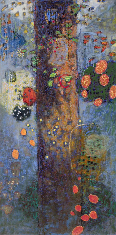 "Gratitude   oil on canvas   72 x 36"""
